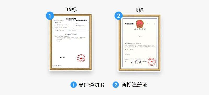 SEO-网站建设-商标注册后得到的证书 - 1