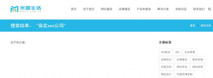 保定seo公司-搜索结果
